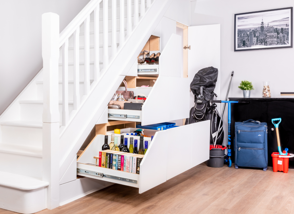 Under Stair Storage - Create More Space in Your Home