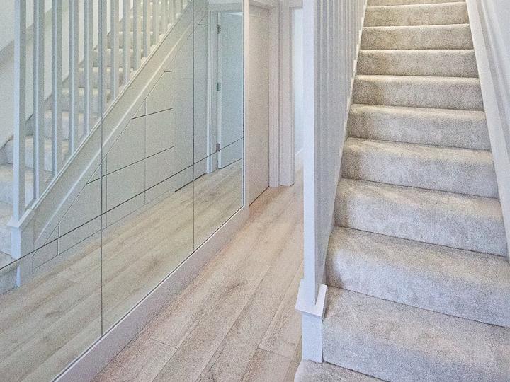 Under stairs storage DIY SOS